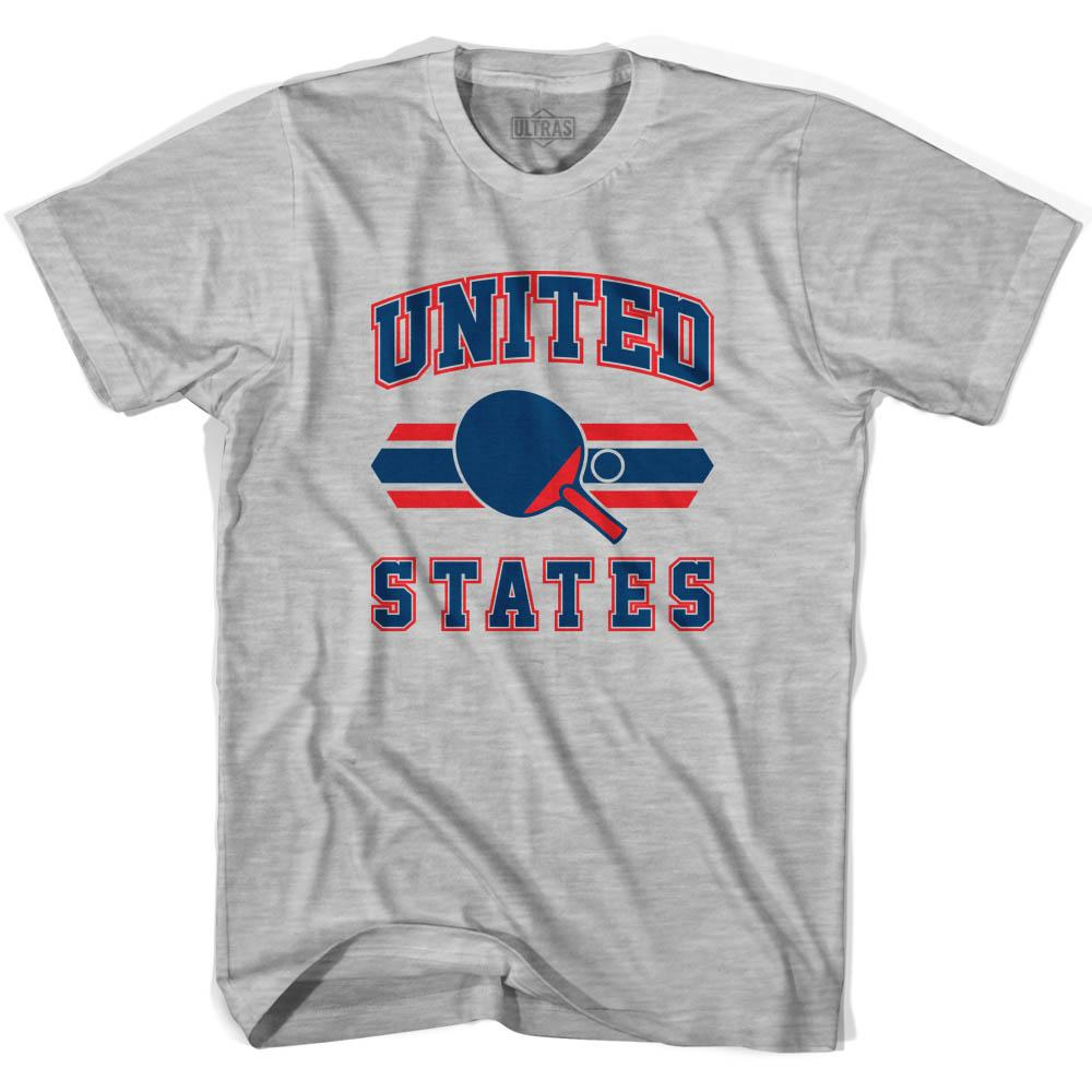 United States Table Tennis Youth  Cotton T-shirt by Ultras