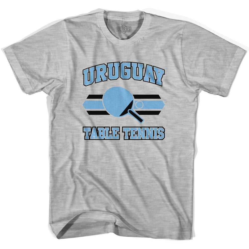 Uruguay Table Tennis Youth  Cotton T-shirt by Ultras