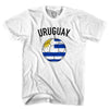 Uruguay Soccer Ball T-shirt in White by Neutral FC