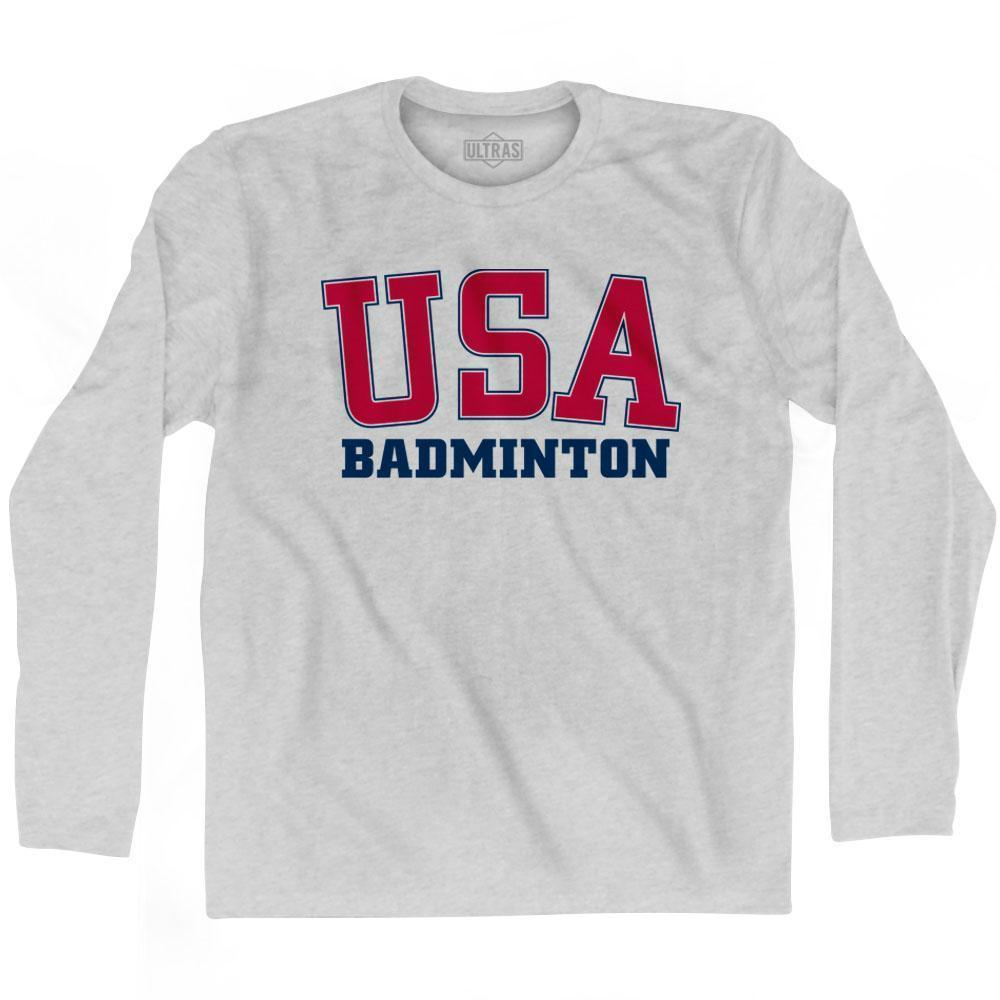 USA Badminton Ultras Long Sleeve T-shirt by Ultras