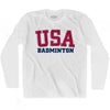 USA Badminton Ultras Long Sleeve T-shirt