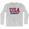 USA Croquet Ultras Long Sleeve T-shirt by Ultras