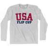 USA Flip Cup Ultras Long Sleeve T-shirt by Ultras