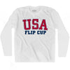 USA Flip Cup Ultras Long Sleeve T-shirt