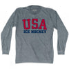 USA Ice hockey Ultras Long Sleeve T-shirt by Ultras