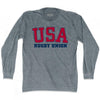USA Rugby Union Ultras Long Sleeve T-shirt by Ultras