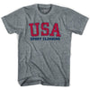 USA Sport climbing Ultras T-shirt by Ultras