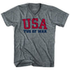 USA Tug of War Ultras V-neck T-shirt by Ultras