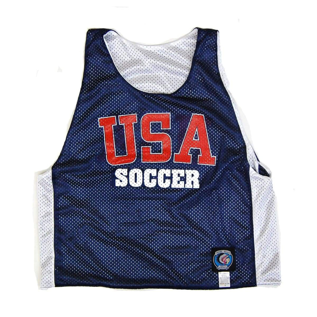 USA Soccer Pinnie - Graphic Mesh Lacrosse Pinnies