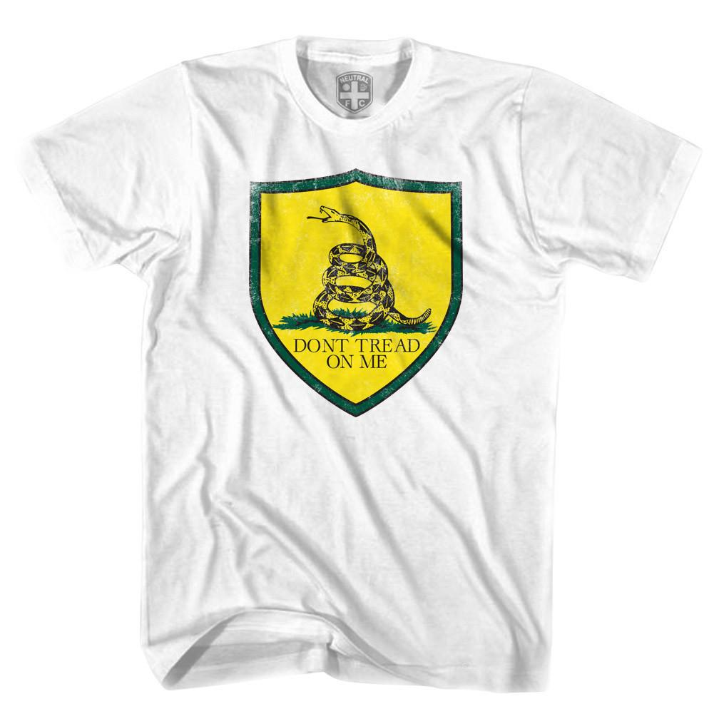 USA Soccer DTOM Crest T-shirt in White by Neutral FC
