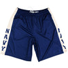 US Navy Blue & Gold Lacrosse Shorts in Navy & Gold by Tribe Lacrosse
