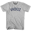 Vaduz City Vintage T-shirt in Grey Heather by Mile End Sportswear