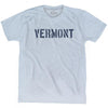 Vermont State Stencil Adult Tri-Blend T-shirt by Ultras