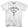 Verona Trident T-shirt in Lake by Life On the Strand