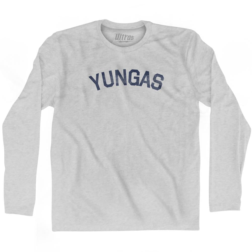 Yungas Adult Cotton Long Sleeve T-Shirt by Ultras