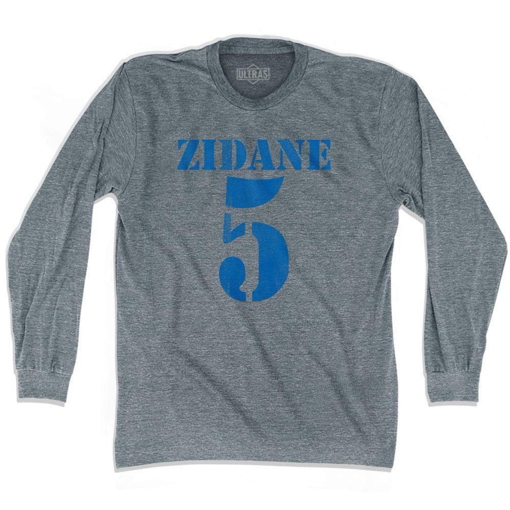 Ultras Zidane 5 Soccer Long Sleeve T-shirt by Ultras