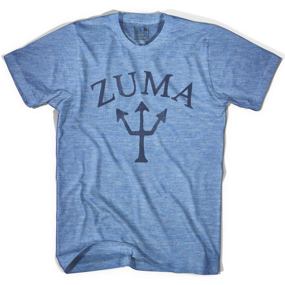 Zuma Trident T-shirt in Athletic Blue by Life On the Strand