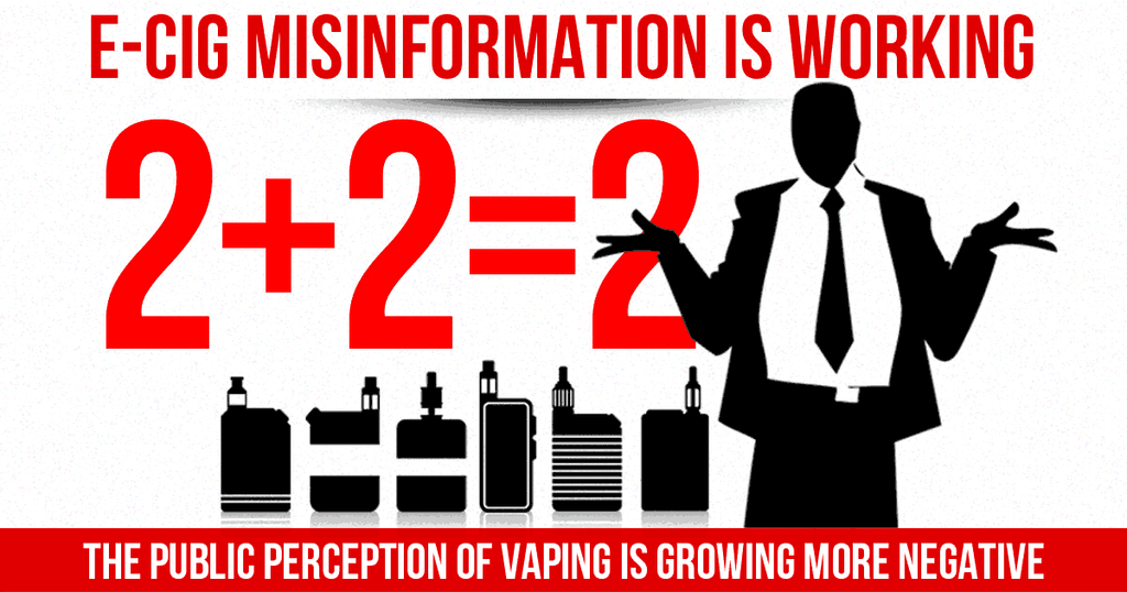 Anti-vaping Propaganda, what to do about it?