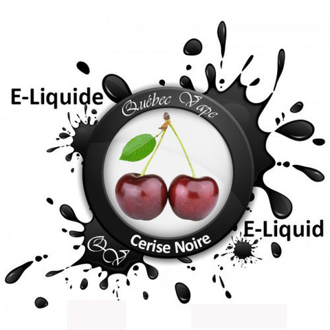 Quebec Vape - Black Cherry 30ml 50/50