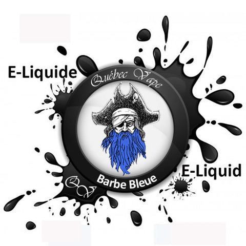 Quebec Vape - Blue Beard 30ml 50/50