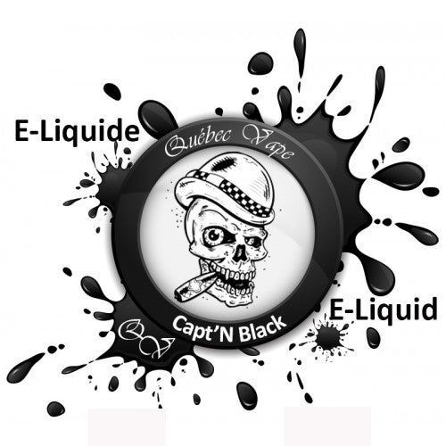 Quebec Vape -  Capt'n Black 30ml 50/50