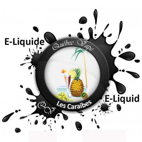 Quebec Vape - Caraibes 30ml 50/50