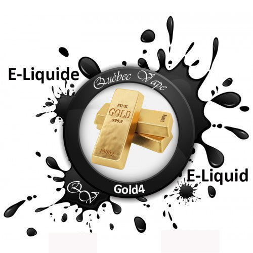 Quebec Vape - Gold 4 30ml 50/50