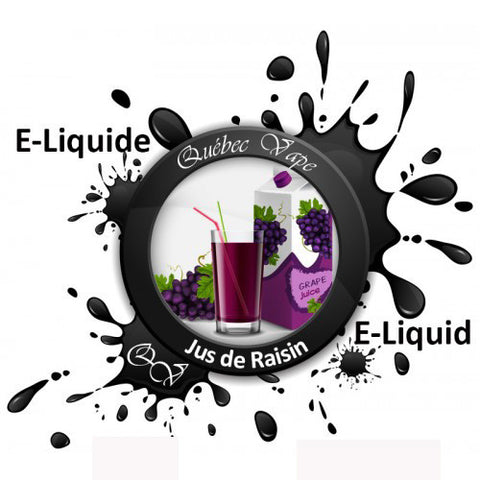 Quebec Vape - Grape Juice 30ml 50/50