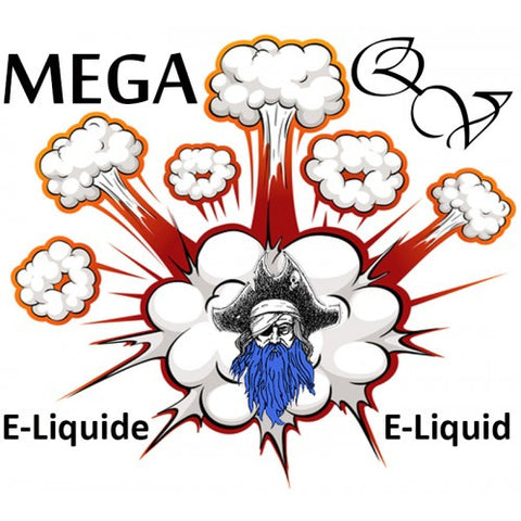 Quebec Vape - Blue Beard HVG MEGA 95ml