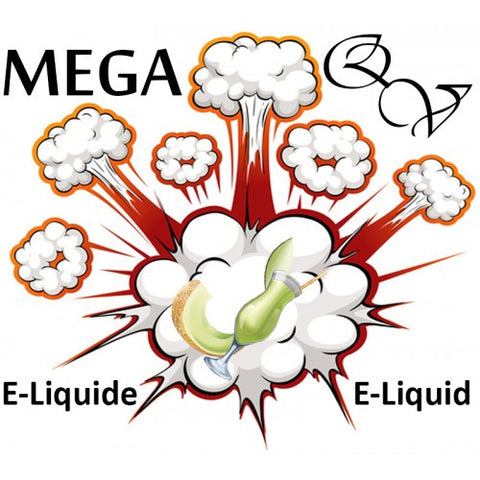 Quebec Vape - Honeydew and Cream HVG MEGA 95ml