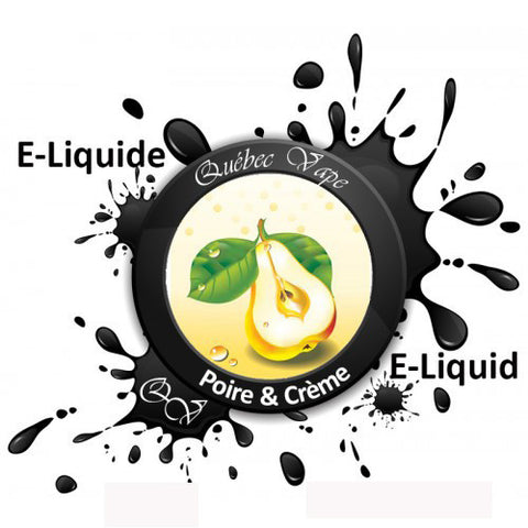 Quebec Vape - Pear Cream 30ml 50/50