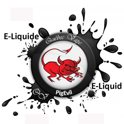 Quebec Vape - Pig Evil 30ml 50/50
