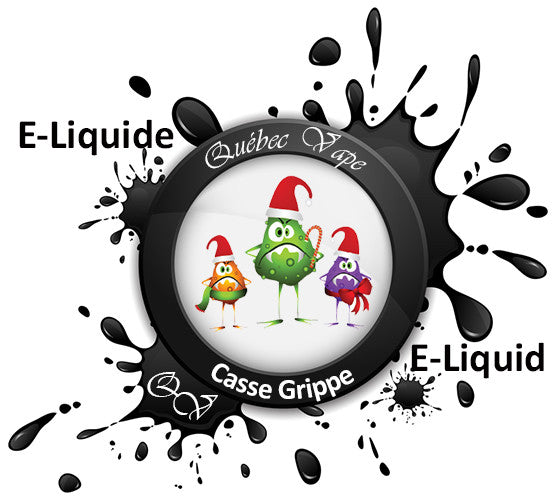 Quebec Vape -  Flu Breaker 30ml 50/50