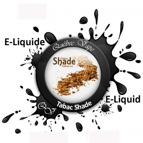 Quebec Vape - Shade Tobacco 30ml 50/50