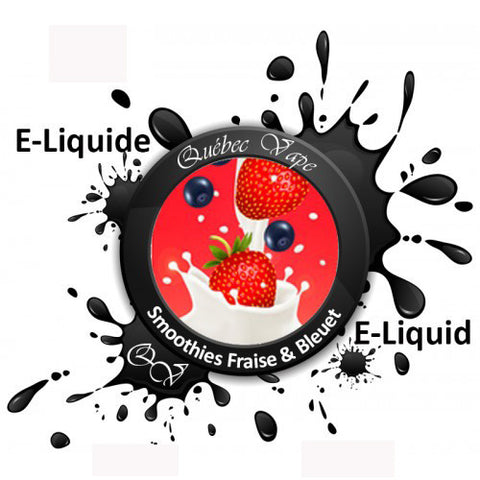 Quebec Vape - Strawberry Blueberry Smoothies HVG MEGA 95ml