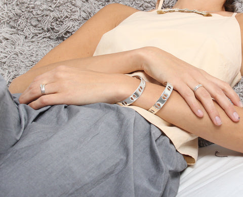 Erin Considine SS16 Single Row Cuff Silver