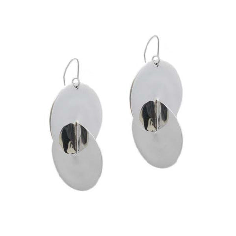 Luna Earrings Silver