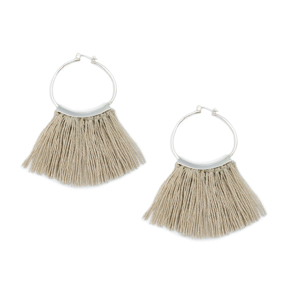 Mini Fringe Hoops