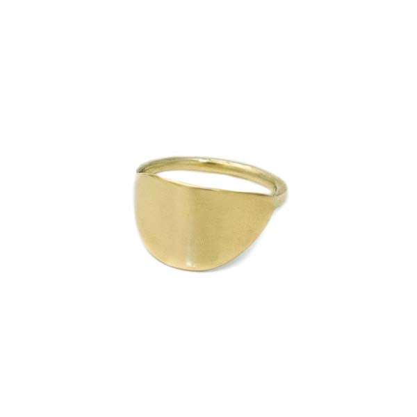 Medio Ring Brass