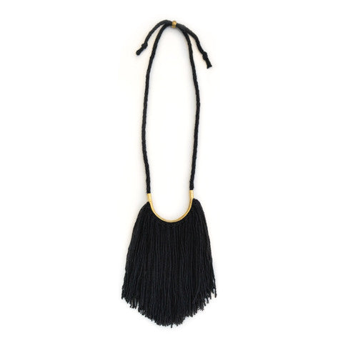Lunate Fringe Logwood Black