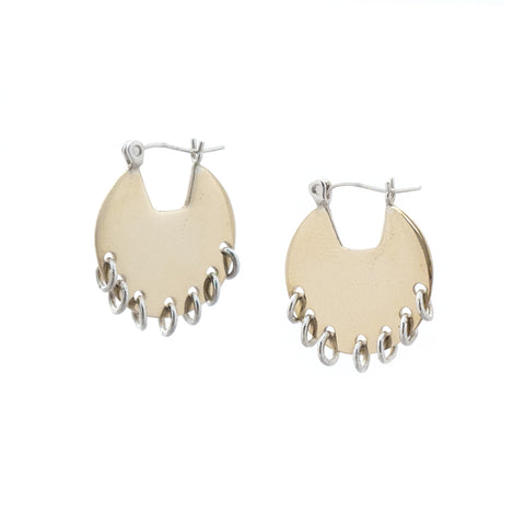 Smilla Earrings Brass