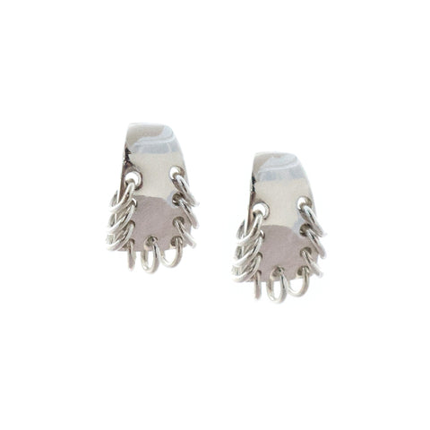 Alta Earrings Silver
