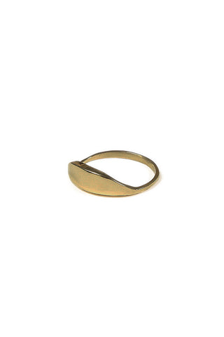 Dune Ring Brass