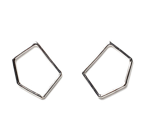Gabriel Earrings Silver