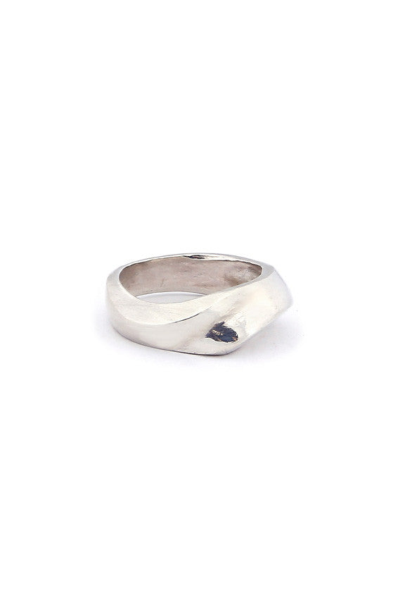 Levels Ring Silver