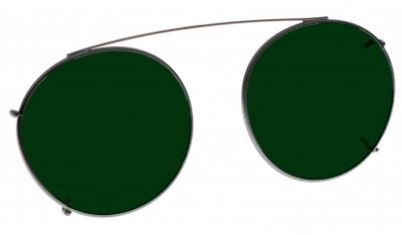 GREEN LENS EYEWEAR FRAME 18 SMALL HOOK ON SKU 1447281590369