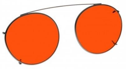 ORANGE LENS EYEWEAR FRAME 18 SMALL HOOK ON SKU 1447280607329