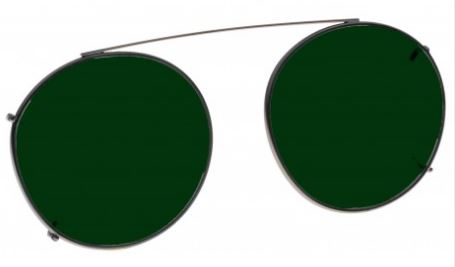 GREEN LENS EYEWEAR FRAME 19 MEDIUM HOOK ON SKU 1447283163233