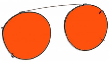 ORANGE LENS EYEWEAR FRAME 19 MEDIUM HOOK ON SKU 1447282737249