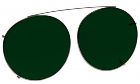 GREEN LENS EYEWEAR FRAME 20 LARGE HOOK ON SKU 1447284179041